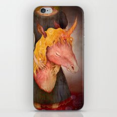 A Girl and Her Horse iPhone & iPod Skin