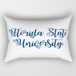Florida University Sticker Rectangular Pillow