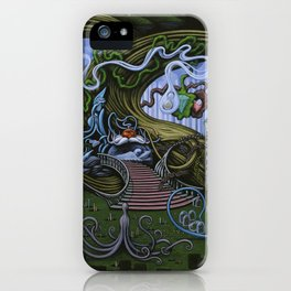 Existing Only In The Light iPhone Case
