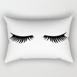 Lashes Rectangular Pillow