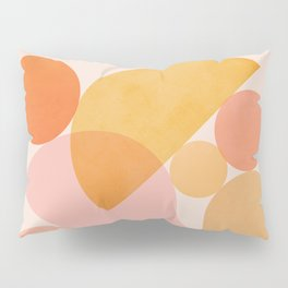Abstraction_SHAPES_COLOR_Minimalism_002 Pillow Sham
