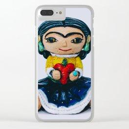 Fida kahlo Mexian artis Clear iPhone Case