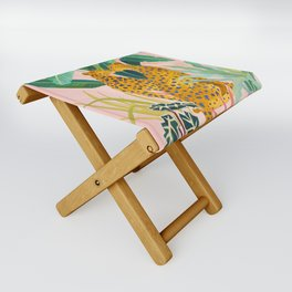 Cheetah Crush Folding Stool