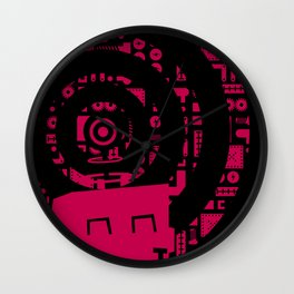 Little Robot  Wall Clock