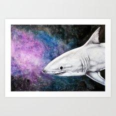 Great White Shark II Art Print