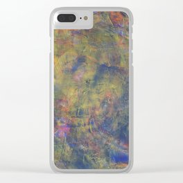 Detail: J Train Blues Clear iPhone Case