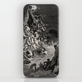 World Destroyed by Water Gustave Dore, 1866 iPhone Skin