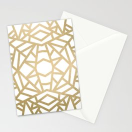 Gold Sun Stationery Cards