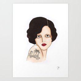 Mallorca Art Print