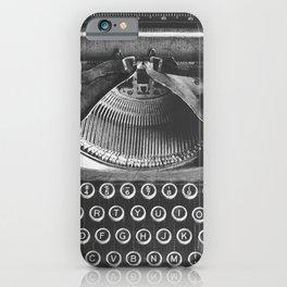 Vintage Typewriter - Before Email iPhone Case