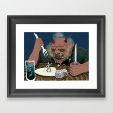 Appetizer Framed Art Print