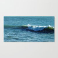 surfer Canvas Prints featuring Surfer by Liveart4evr