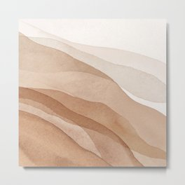 Mountains and hills Metal Print