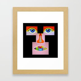 Color Vision Framed Art Print