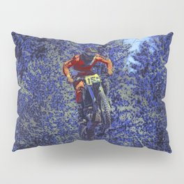 Finish Line Jump - Motocross Racing Champ Pillow Sham