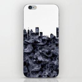 Detroit Skyline Michigan iPhone Skin
