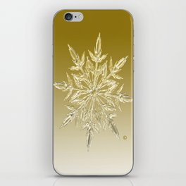 Crystal Snowflake iPhone Skin