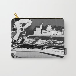 Off the Rails   - Skateboarder Carry-All Pouch