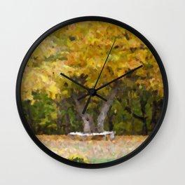 Gatineau Park Wall Clock