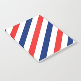 Barber Stripes Notebook