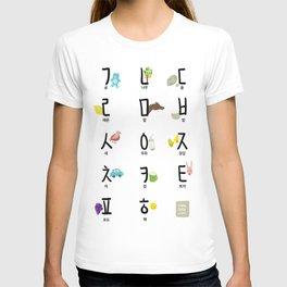 Korean (Hanguel/Hangul) illustration Poster T-shirt