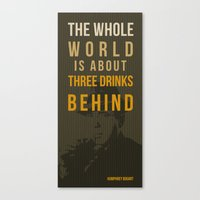 actor Canvas Prints featuring movie actor quote by Larsson Stevensem