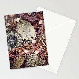 Boho jewellery Stationery Cards