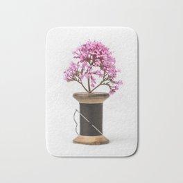 Wooden Vase Bath Mat