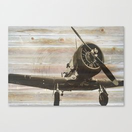 Old airplane 2 Canvas Print