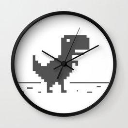 Google Dinosaur Wall Clock