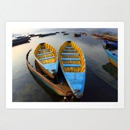 Boats Kunstdrucke