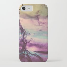 Purple Fluorite from our Earth iPhone Case