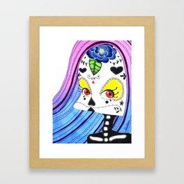 SugarSkull Framed Art Print