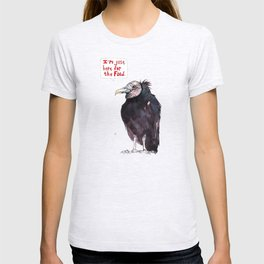 """""""I'm just here for the food.""""  T-shirt"""