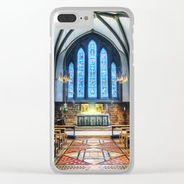 Cathedral Glow Clear iPhone Case