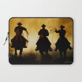 Three Cowboys Western Laptop Sleeve