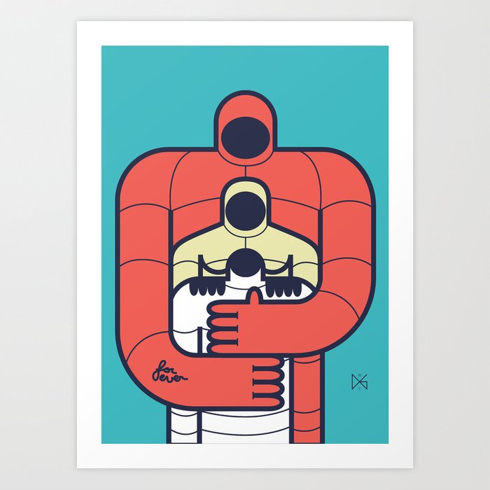 family 1 Art Print