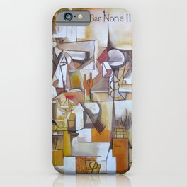 Bar None II iPhone Case