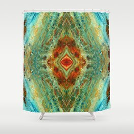 acrylic 3 Shower Curtain