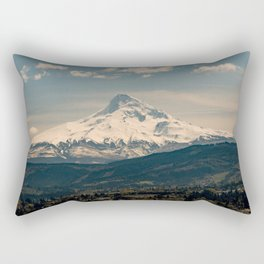 Mountain Valley Pacific Northwest - Nature Photography Rectangular Pillow