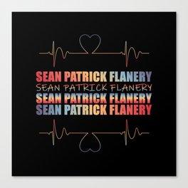 Flanery Heart Beat Canvas Print