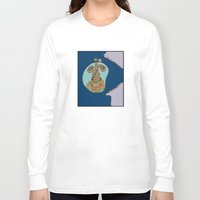 eat Long Sleeve T-shirts featuring Eat by @Katbingart