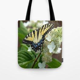Yellow Tiger Swallowtail Tote Bag