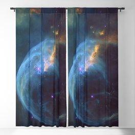 Bubble Nebula Astronomy Blackout Curtain
