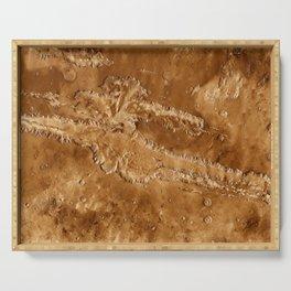 Valles Marineris Serving Tray