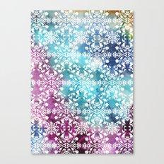 Motif Pattern_rainbow Canvas Print