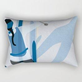 Birkebeinerrennet Birkebeiner Nordic Skiing by Dennis Weber ShreddyStudio Rectangular Pillow