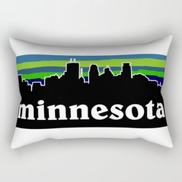Minnesota Cityscape Rectangular Pillow