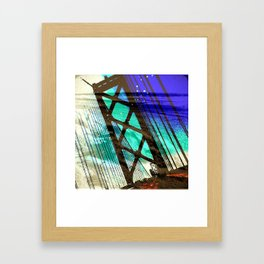 SFO Bound Framed Art Print