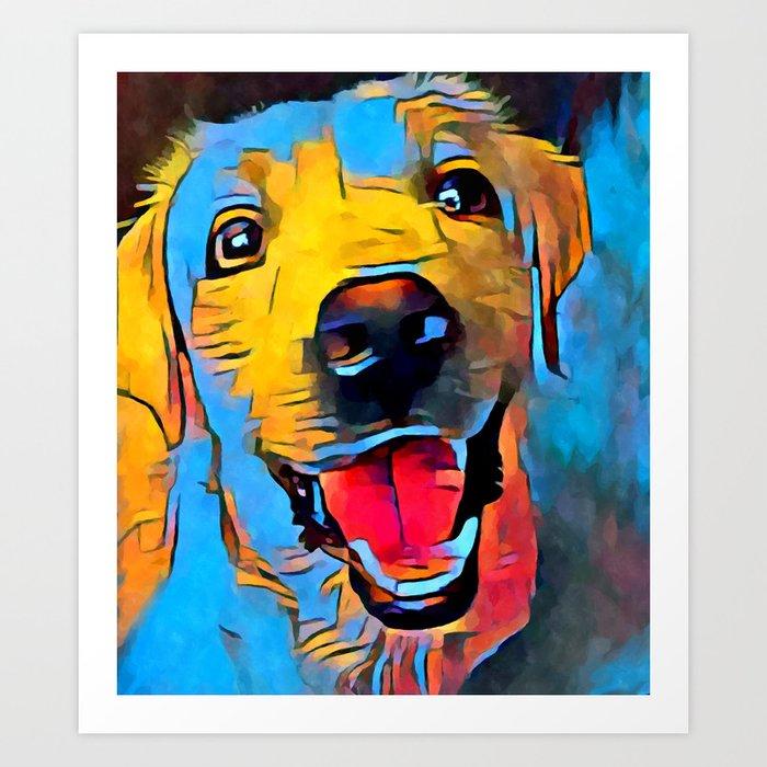 Labrador Retriever 2 Kunstdrucke